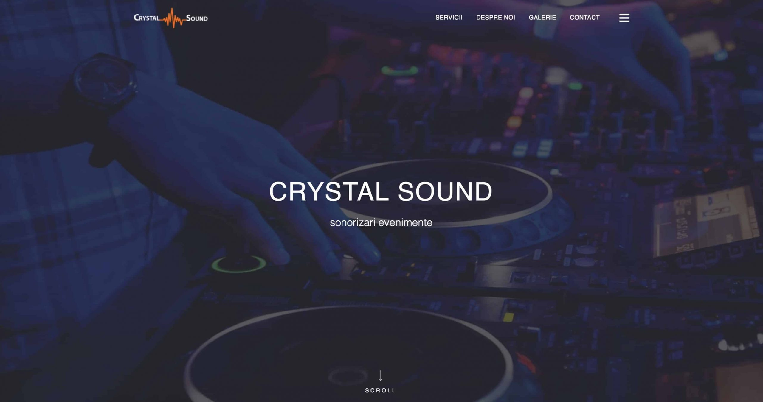 CleanPC Zalau CrystalSound-scaled Web Design