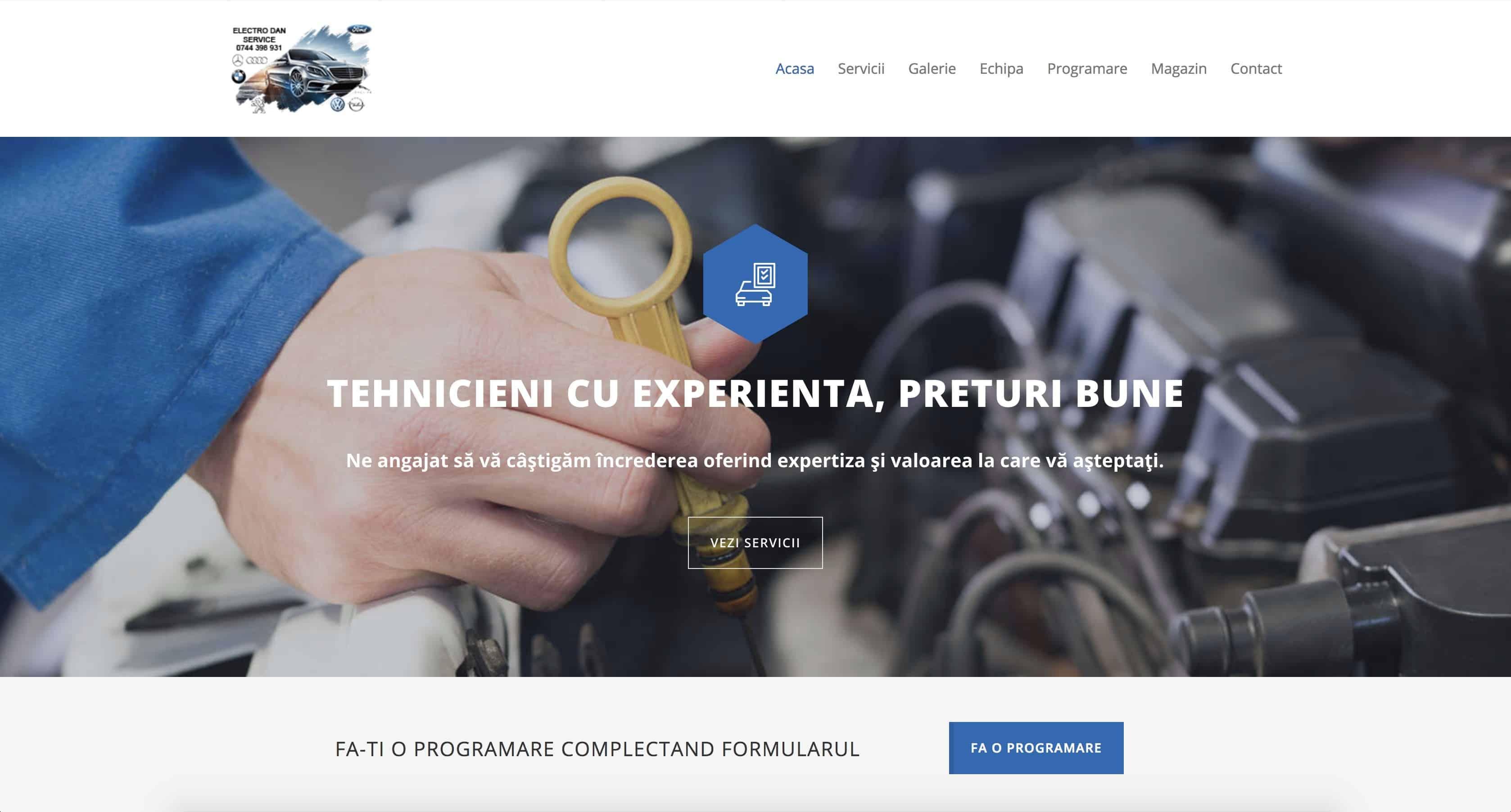 CleanPC Zalau ElectroDan Web Design