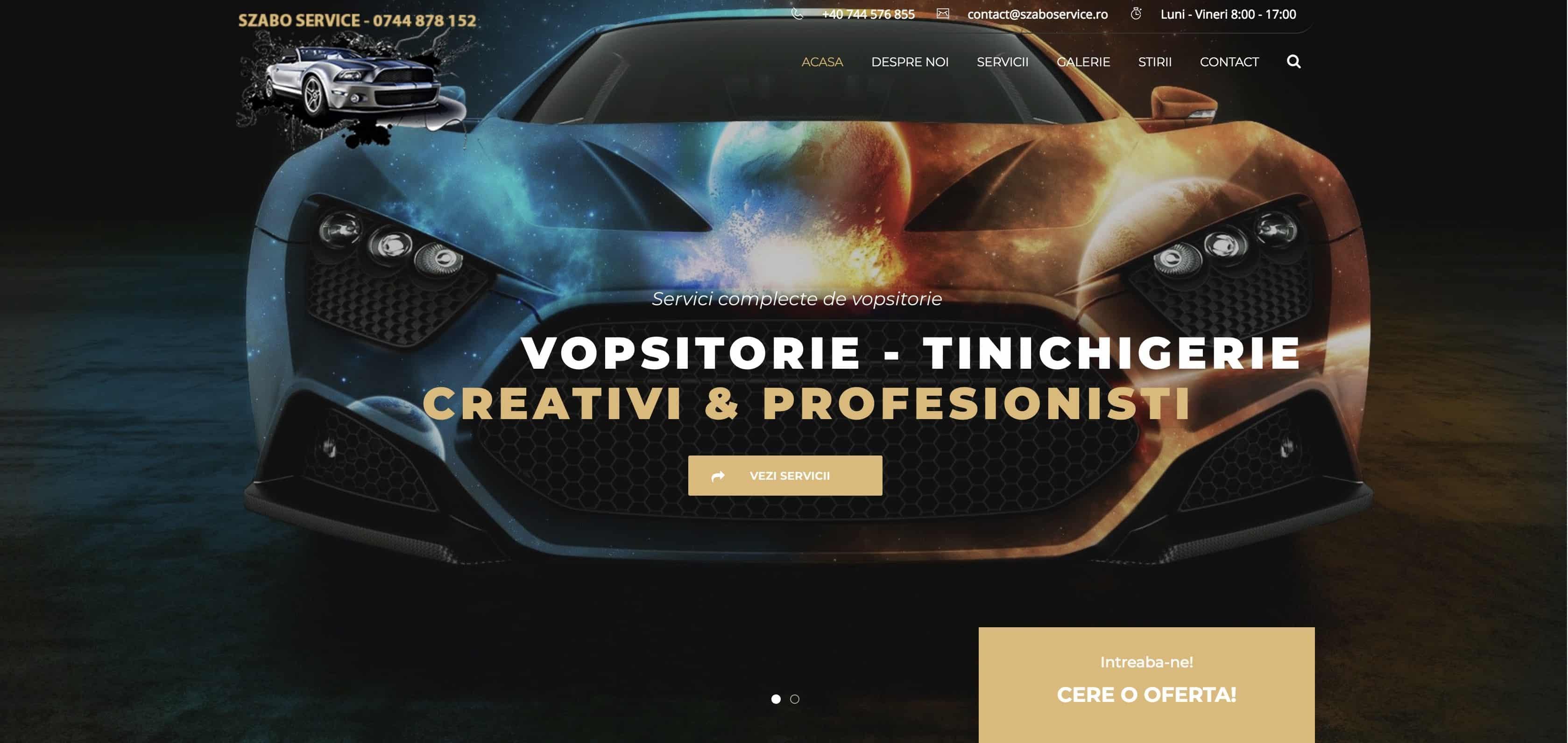 CleanPC Zalau SzaboService Web Design